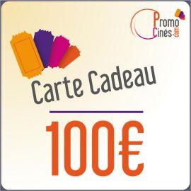 Carte Cadeaux Promo-Cines - 100 euros