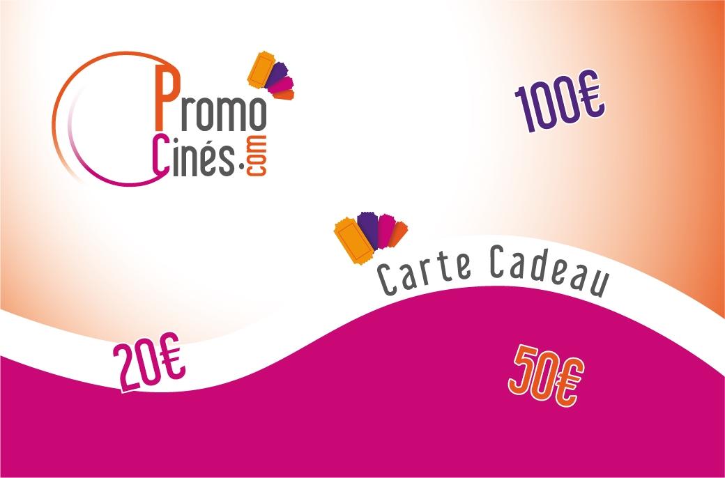 Carte cadeau Promo Cinémas